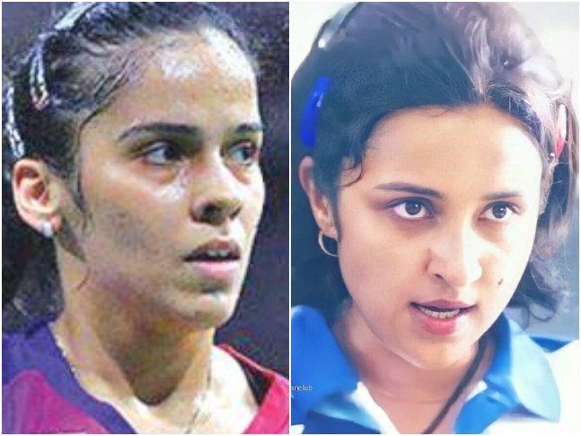 #SainaNehwal Finds Her 'Lookalike' In #ParineetiChopra, Shares A Look From Her Biopic  @NSaina @manojmuntashir @ParineetiChopra @deepabhatia11 #AmoleGupte #Saina #SainaNehwalBiopic
