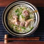 さっぱりとした味がウリ!鍋一つで出来る鶏塩おろしうどん‼