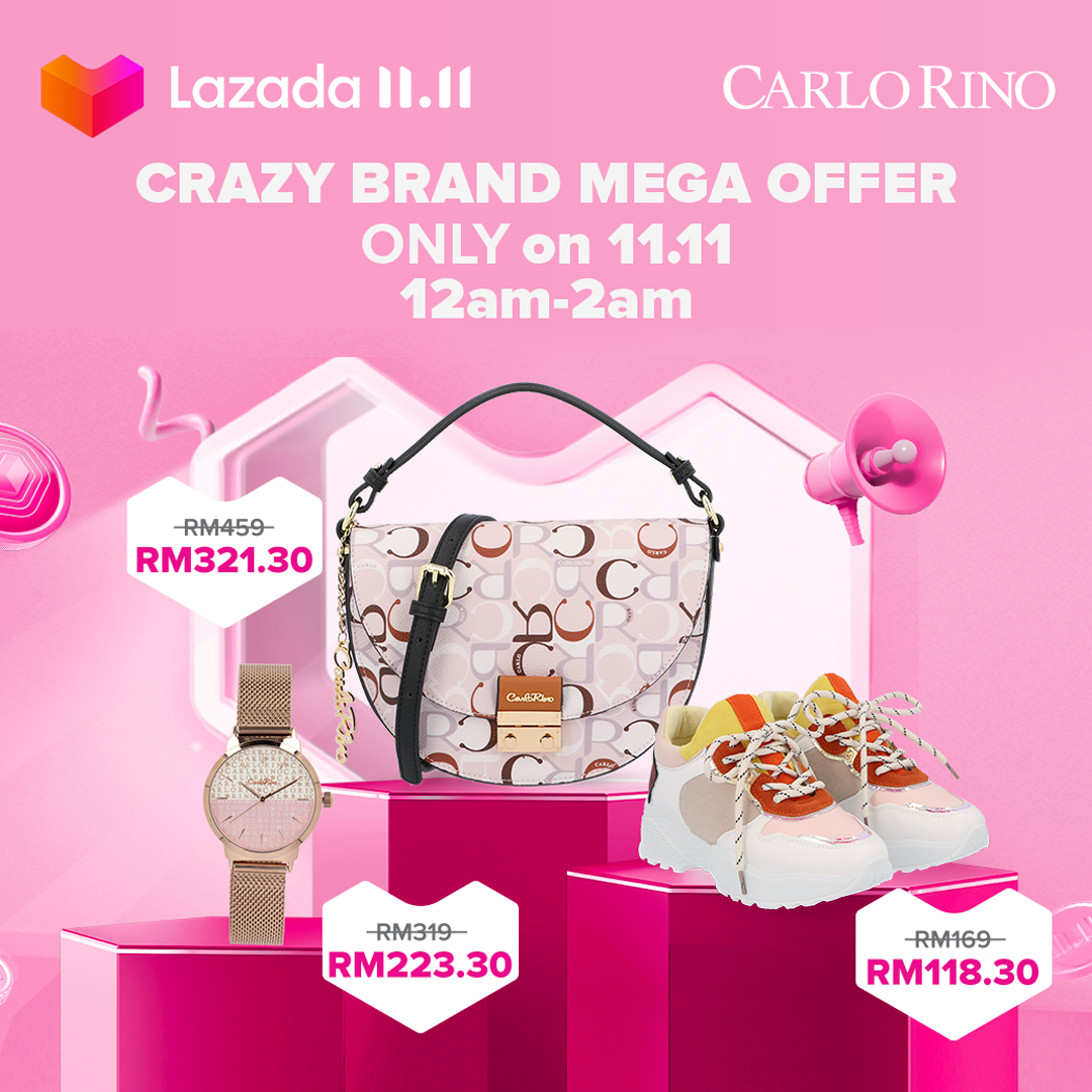 Complete your fashionista OOTD with Carlo Rino as they are giving offer up to 70% Off for you on #LazadaBiggestOneDaySale!  Add to cart here: https://t.co/HFJW8jfp4I https://t.co/aBVKZaiNWb