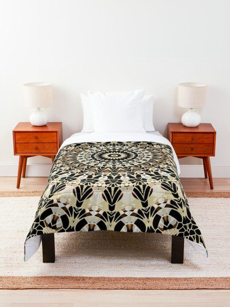 Black and Gold Filigree Mandala Comforter Shop » https://t.co/8C2joVrwaV  #mandala #mandalas #colorfulhome #kaleidoscope #bedding #comforter https://t.co/DukLTofQQB
