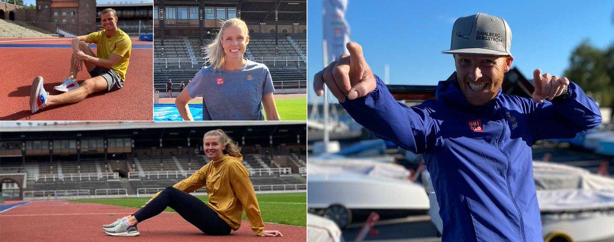 #tränamedenolympier Använd social distansering till träningsmaximering. Träna hemma under ledning av Sveriges bästa idrottare.  #olympiaappen  https://t.co/I8ydww3xtP https://t.co/gk2u9ymnmF