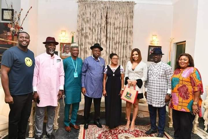 Nengi appointed as SSA on Face of Bayelsa Girl-Child by Governor Diri (Photos)