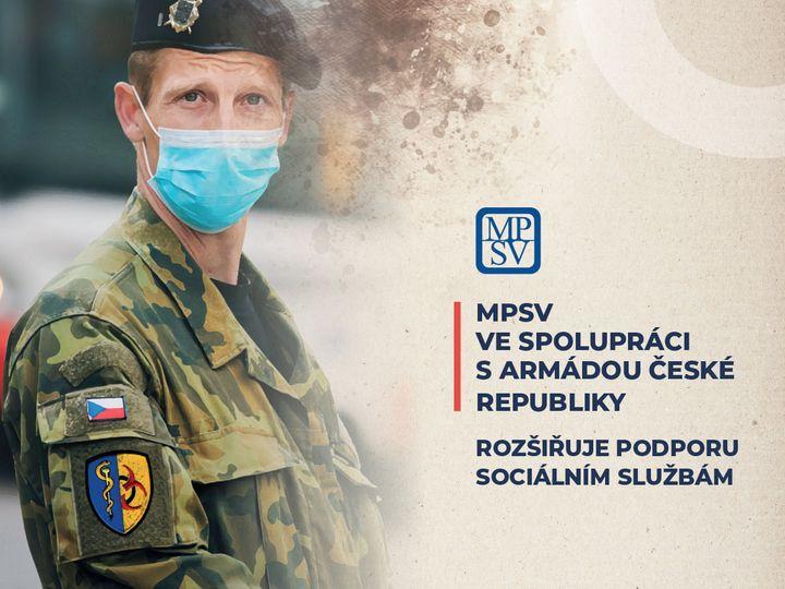 Ve spolupráci s Centrem biologické ochrany Těchonín Armády České republiky MPSV realizuje další aktivity zaměřené na prevenci a kontrolu šíření infekce onemocnění COVID-19 v sociálních službách.   Více informací v tiskové zprávě: 📍https://t.co/zHsKXVCXHM https://t.co/S33jEWvaId