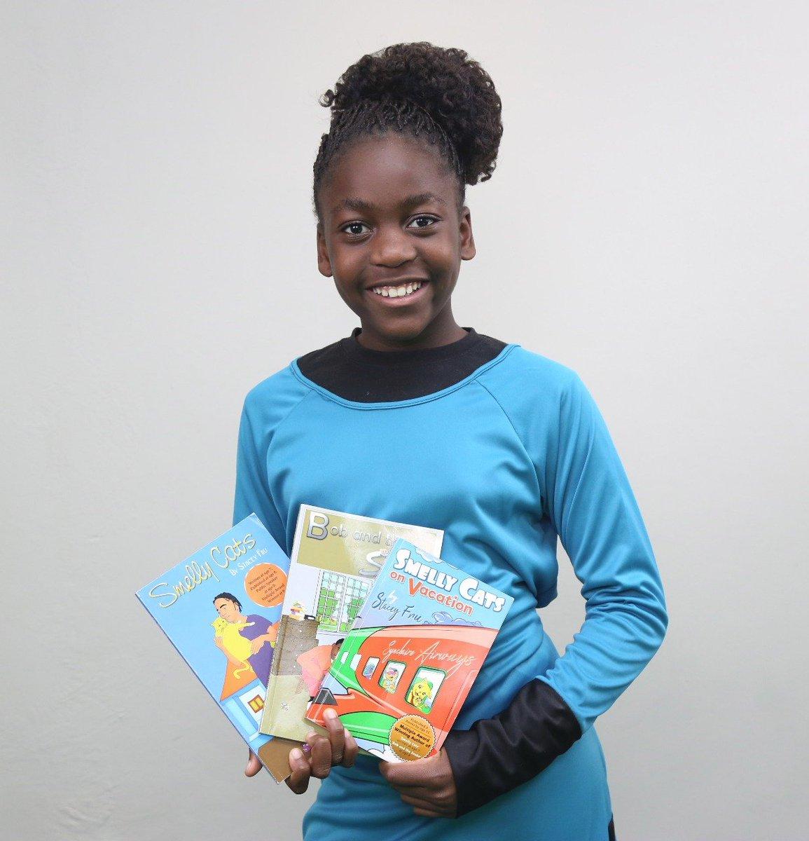Stacey Fru, The 13-Year-Old International Award-Winning Author - GCP Awards  Blog