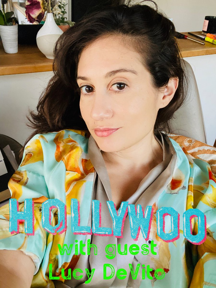This ep of @HOLLYWOOpodcast dropped on Wed but I wanted to wait until life was less terrifying. Now that Biden basically President, please enjoy my convo with actress/producer/child of Hollywood, the fabulous @Lucydevito !