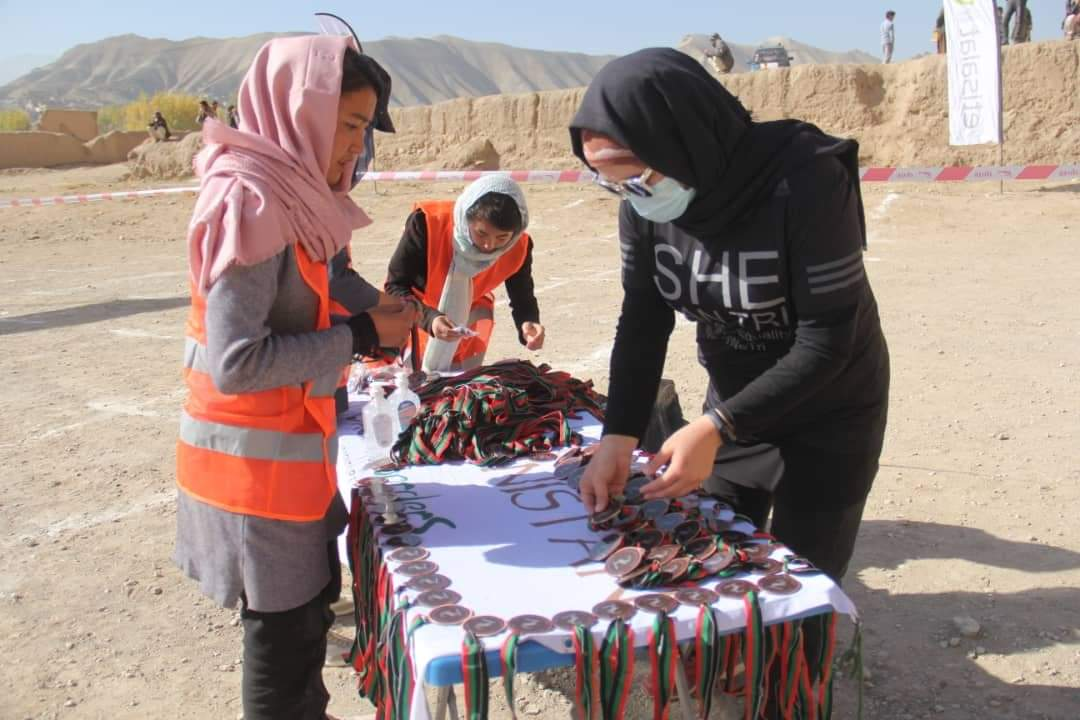 It was brilliant that Zainab involved the Marathon of Afghanistan organizing team this year among all males.