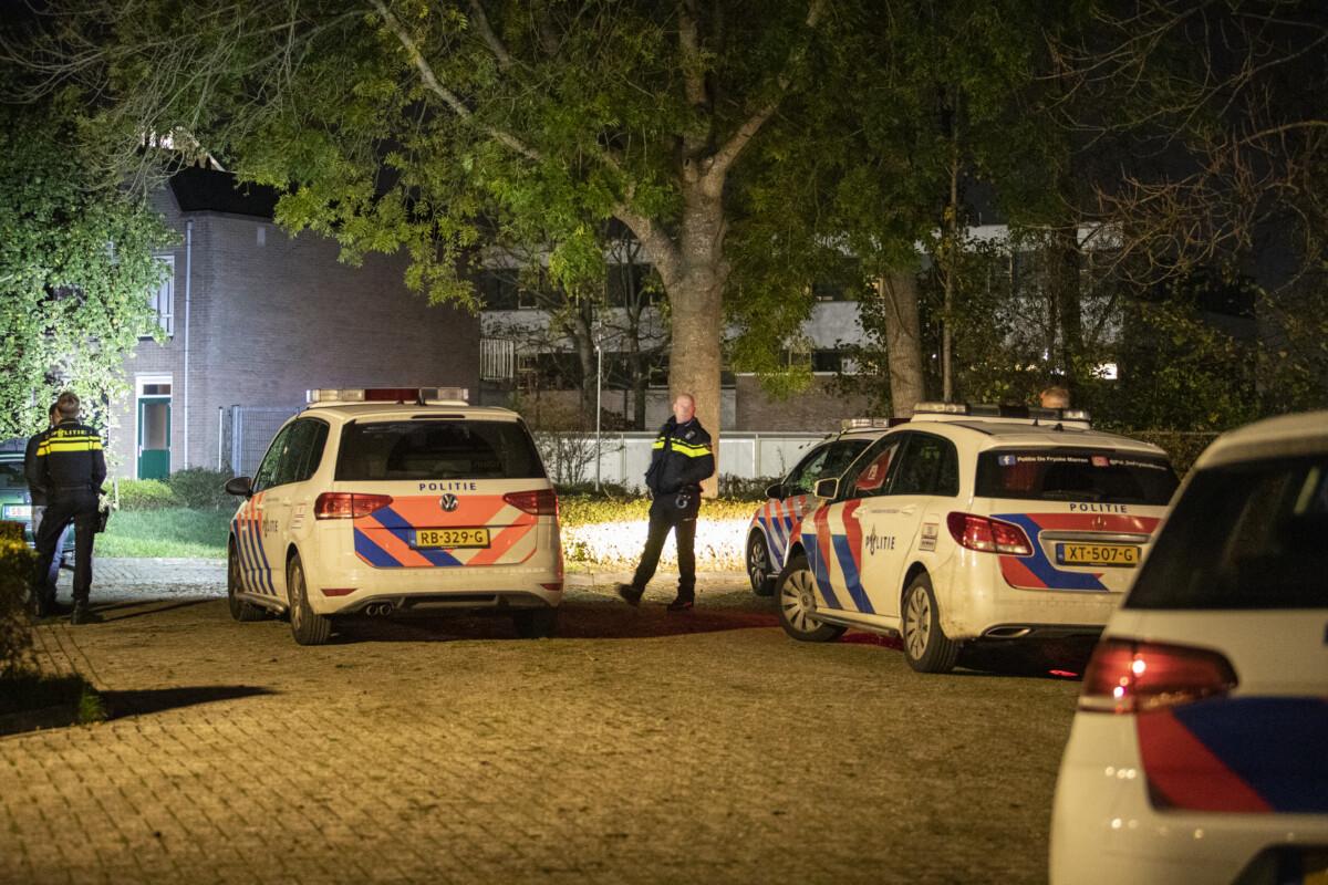 (VIDEO) Overval in Heerenveen, politie verricht aanhouding -..