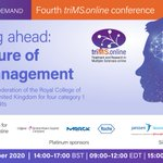 Image for the Tweet beginning: The fourth #triMSonline conference is