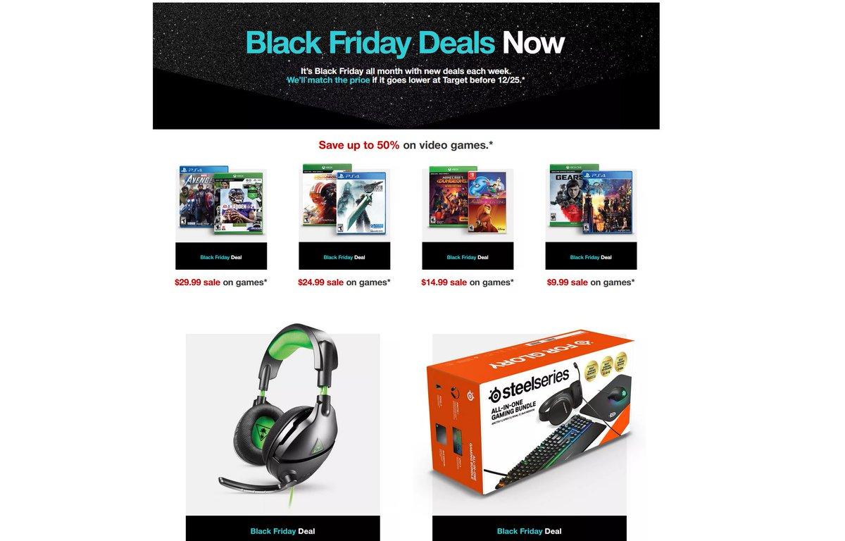 Cheap Ass Gamer On Twitter Black Friday Deals Now Sale Via Target Https T Co Txjd49g5of
