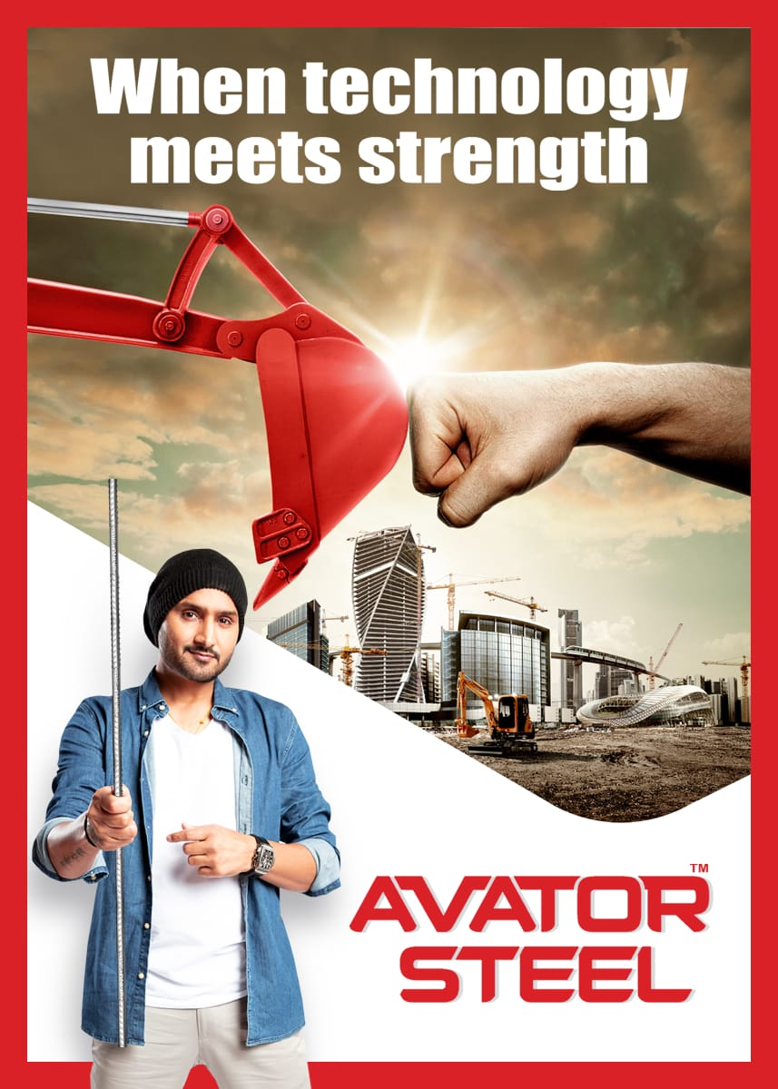 We build our dream home only once. Hence, to make sure it is made with the best technology, always rely on #AvatorSteel, the leader of steel.   #Home #Huse #Stronger #Safer #HarbhajanSingh   @harbhajan_singh