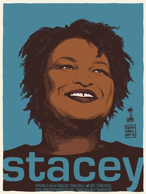 This woman here is a National Treasure! 🖤🖤🖤 @staceyabrams
