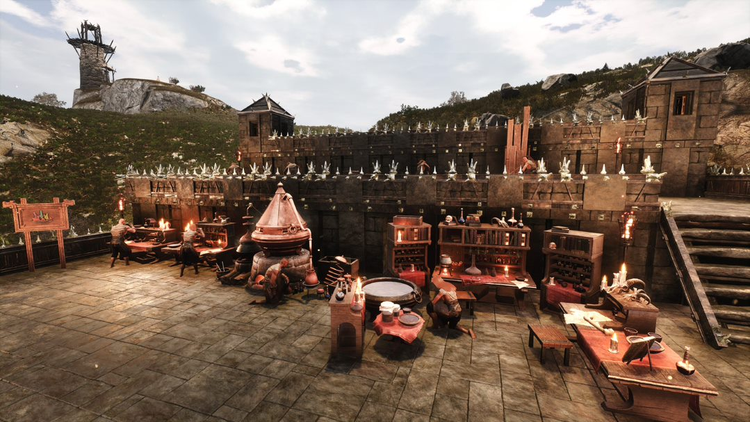 Conan Exiles On Twitter A Patch To The Testlive Branch Is Out This Update Includes Fixing Issues To Crafting And Recipes As Well As Addresses Some Ai Animation Problems Be Sure To
