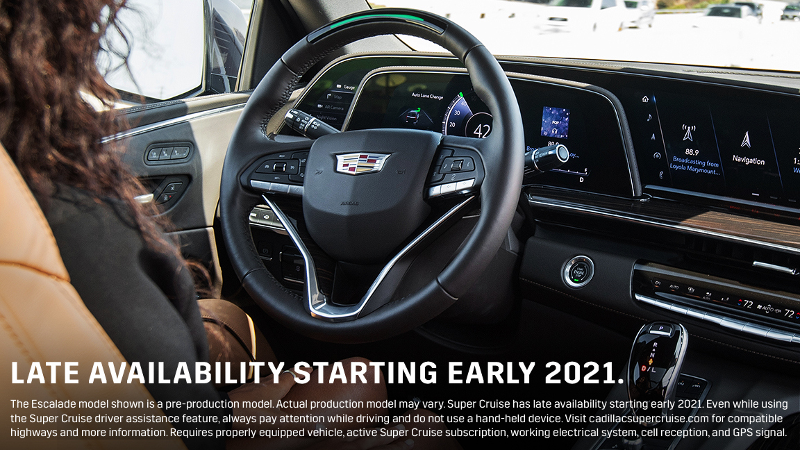 See what @ConsumerReports says about our hands-free available Super Cruise driver-assistance feature.