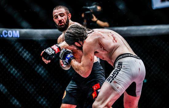 ONE Results: Kiamrian Abbasov Remains Champion With Victory -  #InsideTheMatrix #KiamrianAbbasov #OneChampionship