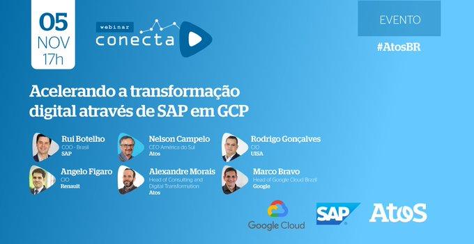 Perdeu o webinar? Acesse agora e confira como SAP e Cloud podem ajudar as...