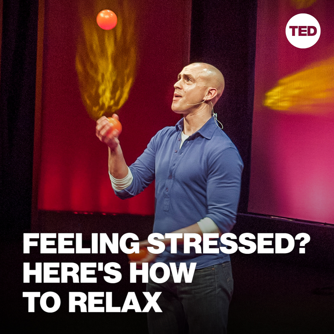 """We can't change every little thing that happens to us in life, but we can change the way that we experience it.""  Watch Andy Puddicombe's full talk on the benefits of taking 10 minutes a day to meditate here:"