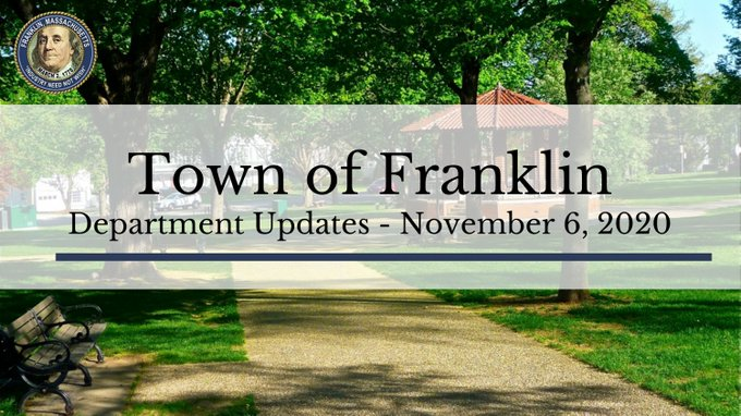 Town of Franklin, MA: Department procedures updated