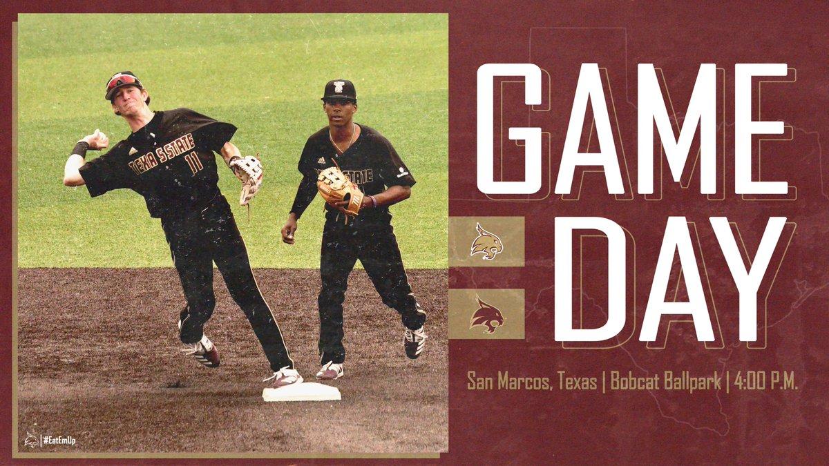 Game 2 of the Fall World Series sees first pitch today at 4 p.m. at Bobcat Ballpark. #EatEmUp #ComebackStrong