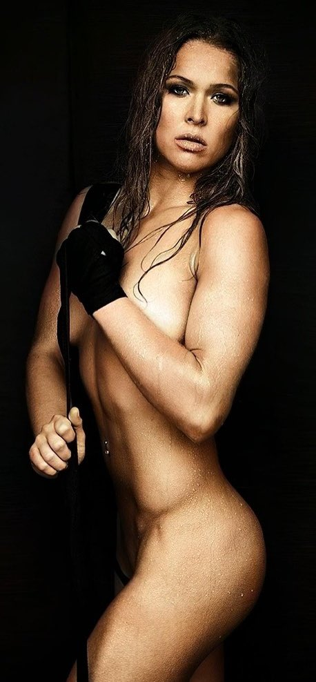 WWE Star Ronda Rousey Naked Rare Photos Surface On Internet 1