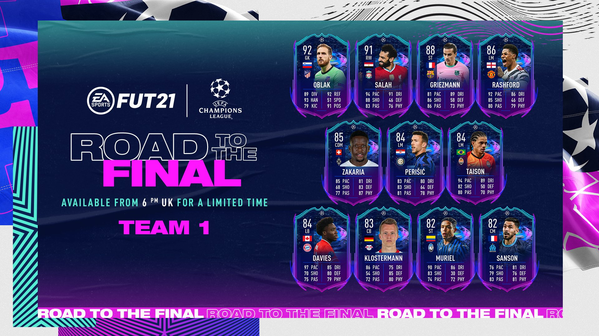 fifa 21 road to the final team 2 live rttf team 2 cards predictions release date and time card designs sbc upgrade dates expected content and everything you need to know fifa 21 road to the final team 2 live