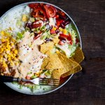 Image for the Tweet beginning: Serve this Taco Salad recipe