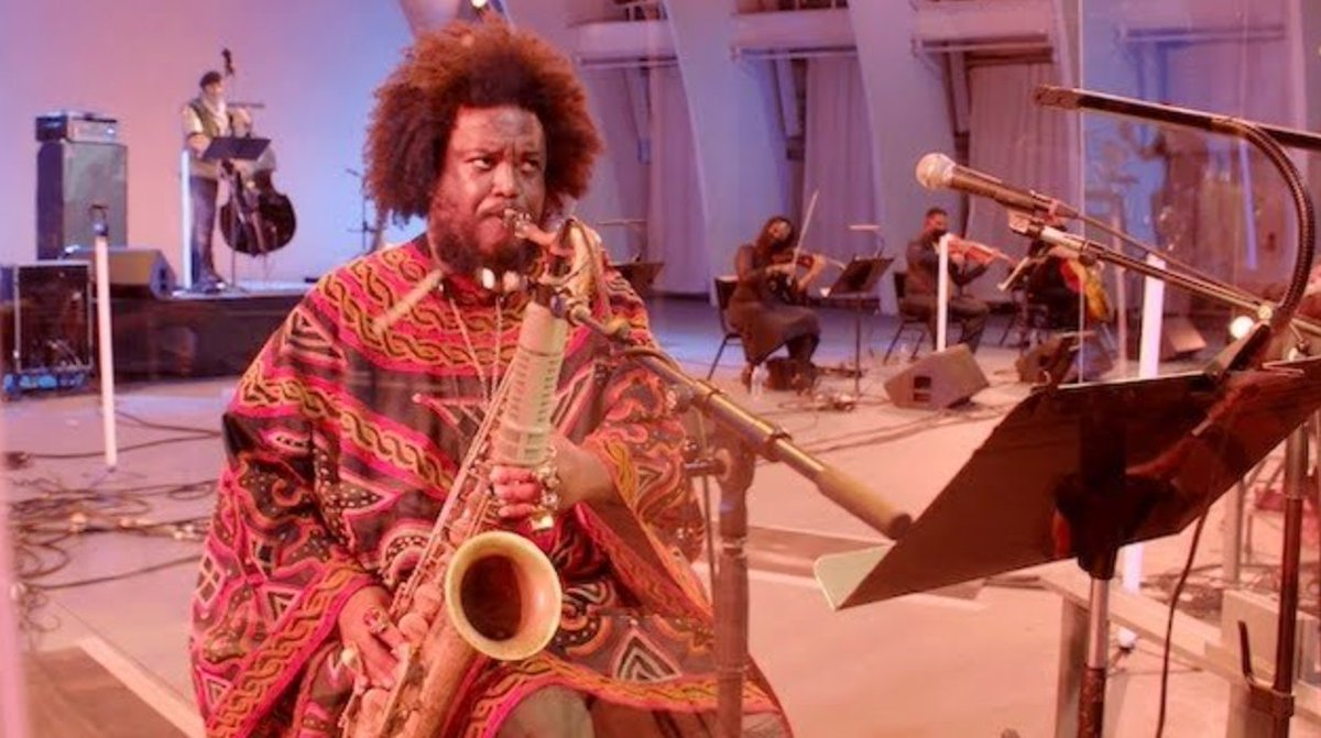 """.@KamasiW's score for """"Becoming,"""" the @MichelleObama  documentary, features in the latest episode of SOUND/STAGE, from @LAPhil.   #Iambecoming  #MichelleObama"""
