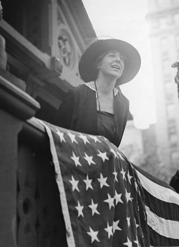 7 Nov 1916: #Republican Jeannette #Rankin of #Montana becomes the first woman elected to #Congress. Notably, she voted against declaring war during #WWI and was the only member to vote against a declaration of war against #Japan in #WWII. #vote #ad
