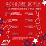Image for the Tweet beginning: The 2️⃣0️⃣2️⃣1️⃣ #F4US schedule is