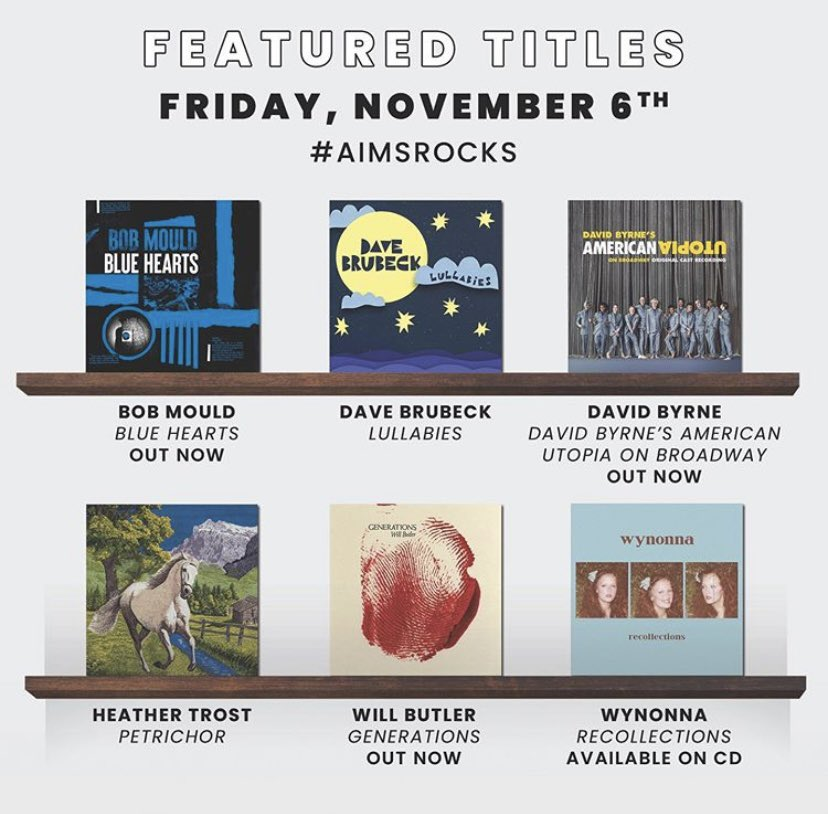 Happy Friday! Check out these featured titles out and currently in stock! #AIMSROCKS