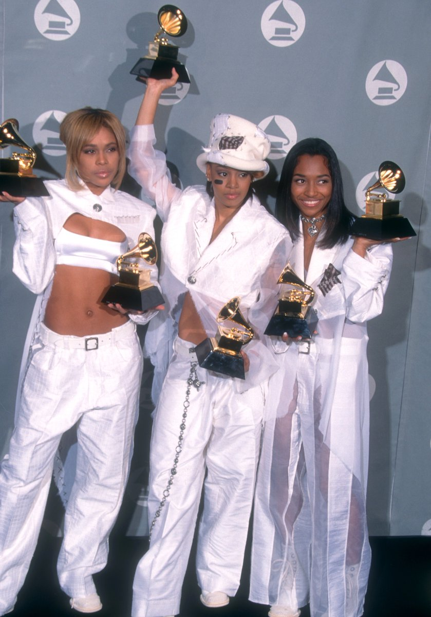 .@OfficialTLC has won both Best R&B Album and Best R&B Performance By A Duo Or Group With Vocal twice, in 1995 and 1999:  🎶 #GRAMMYVault
