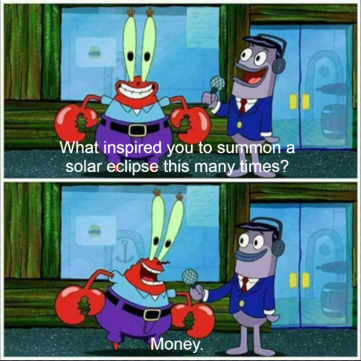 R Terraria On Twitter Mr Krabs Making Bank Https T Co 9jvxvelzyq Terraria 1.3 solar eclipse, drops, mothron guide (+how to spawn event). r terraria on twitter mr krabs making