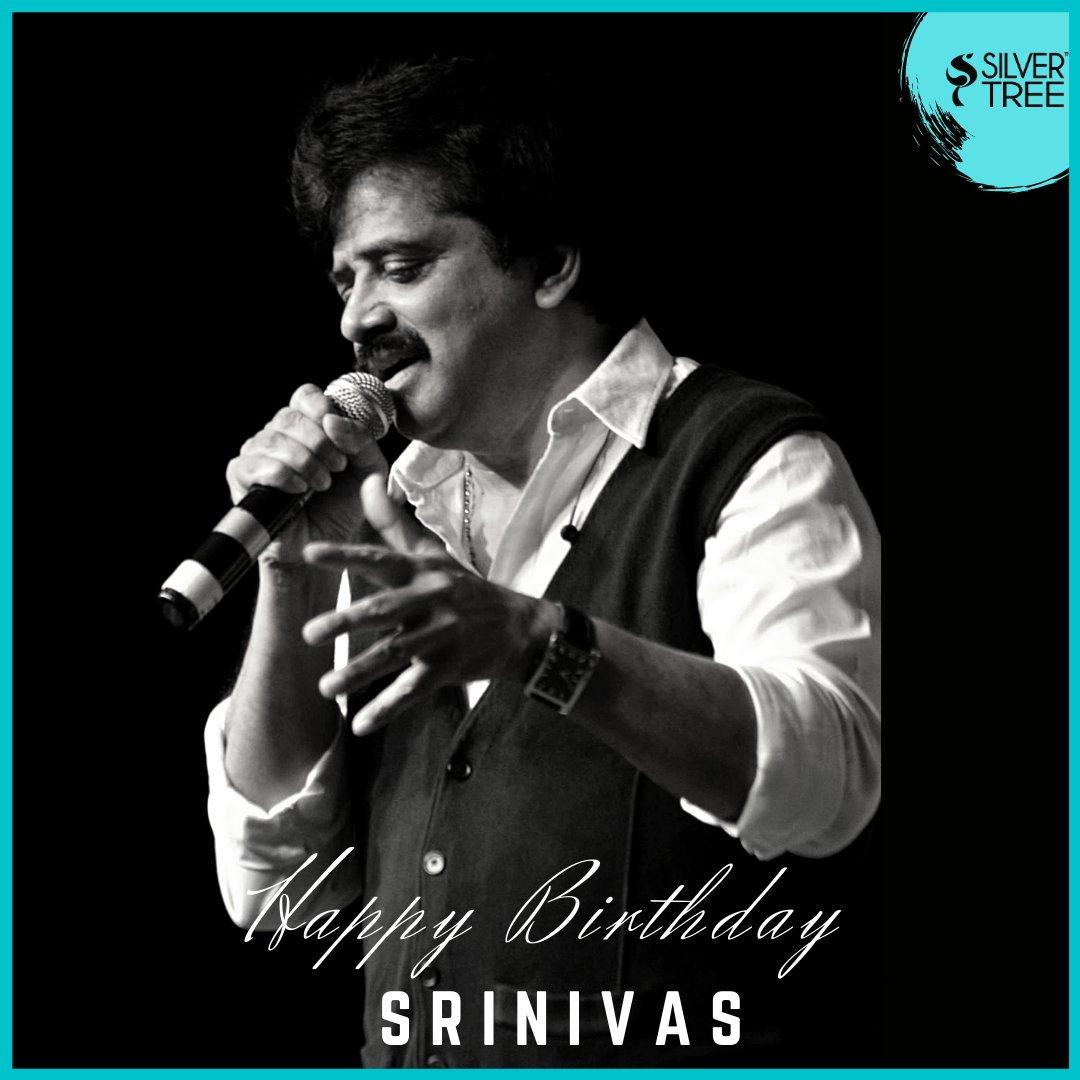 Birthday greeting to our dear @singersrinivas✨   #Singersrinivas #srinivas #HBDsrinivas #Silvertreewishes