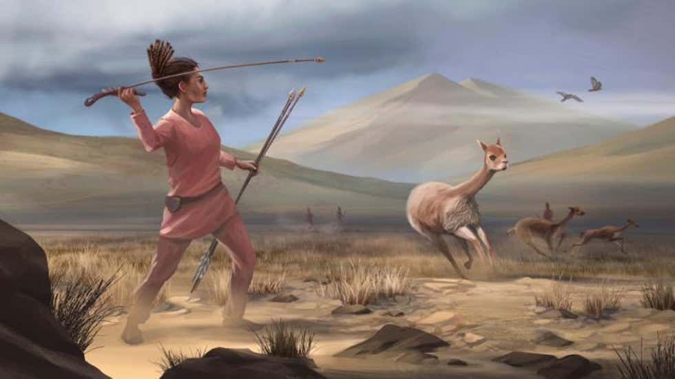 #Fossil of 9,000 Years Old Female Hunter Challenge Misguided Assumptions Around Gender Roles in Early Humans    (📸: Matthew Verdolivo, UC Davis IET Academic Technology Services)