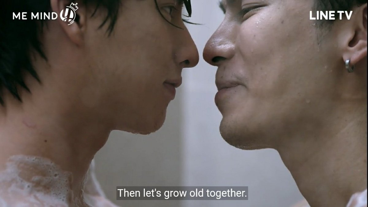"""""""Let's grow old together"""" and Type agreeing to do so was basically the highlight of hope. Hope that they will be together for a long time, hope that they will grow old together and will always love each other in the future. +"""