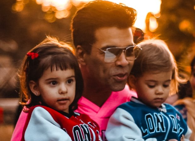 #KaranJohar's Kids #Yash And #Roohi Finds His #Book #TheBigThoughtsOfLittleLuv' Funny
