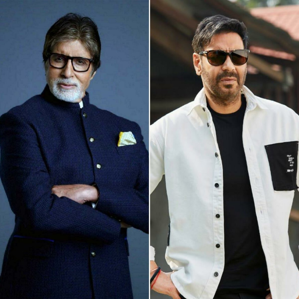 .@SrBachchan & @ajaydevgn are all set to reunite after 7 years for a thrilling, absolute edge-of-the-seat human-drama titled #Mayday, being produced by Ajay Devgn Ffilms & directed by #AjayDevgn. He's directing the legend for the first time.   (1/2)