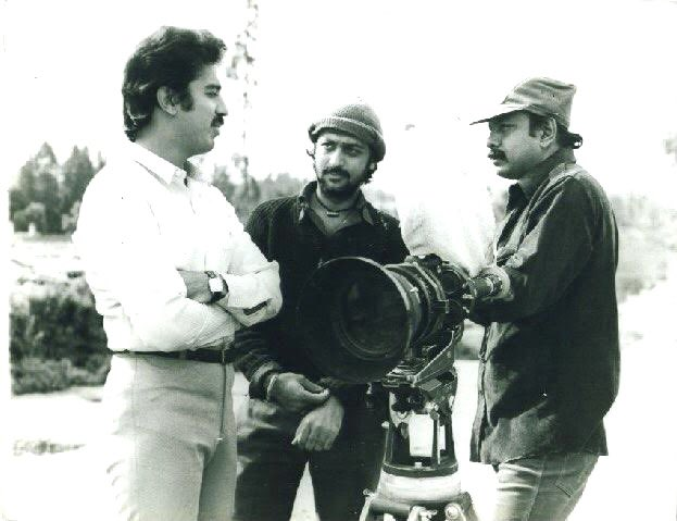 Happy Birthday ⁦@ikamalhaasan⁩  Kamal Garu .My admiration and learning from you began on sets of #Sadma and continues .Thank you for not only guidance in acting ,also for hooking me to fitness. Every evening a run with you and Romu Sippy was gaining wisdom time for me .