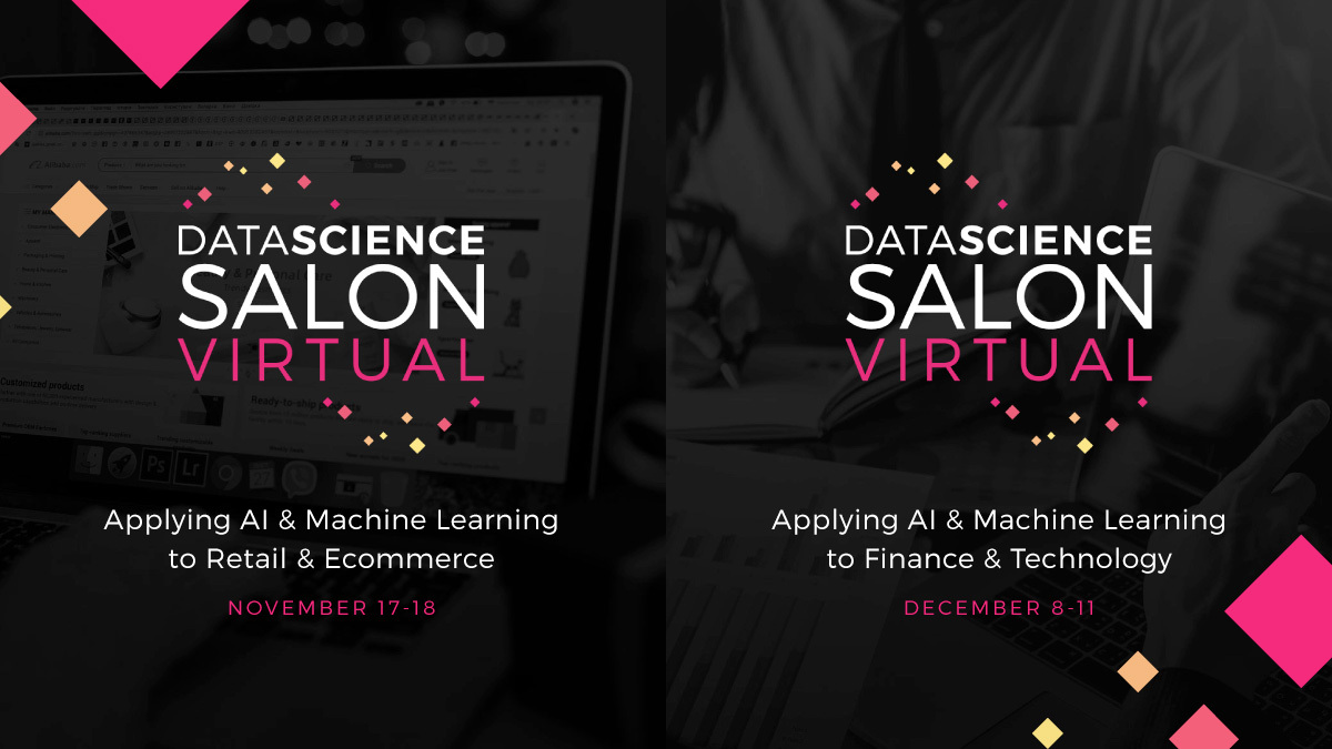 "🌸 We have 5 FREE tickets to give away to the virtual #DataScience Salon for #Retail & #Ecommerce on Nov 17-18. @DataSciSalon.   ⤵️ Use promo code ""WiMLDSParisVIP"" to register:   #WiMLDSParis #WiMLDS @wimlds"