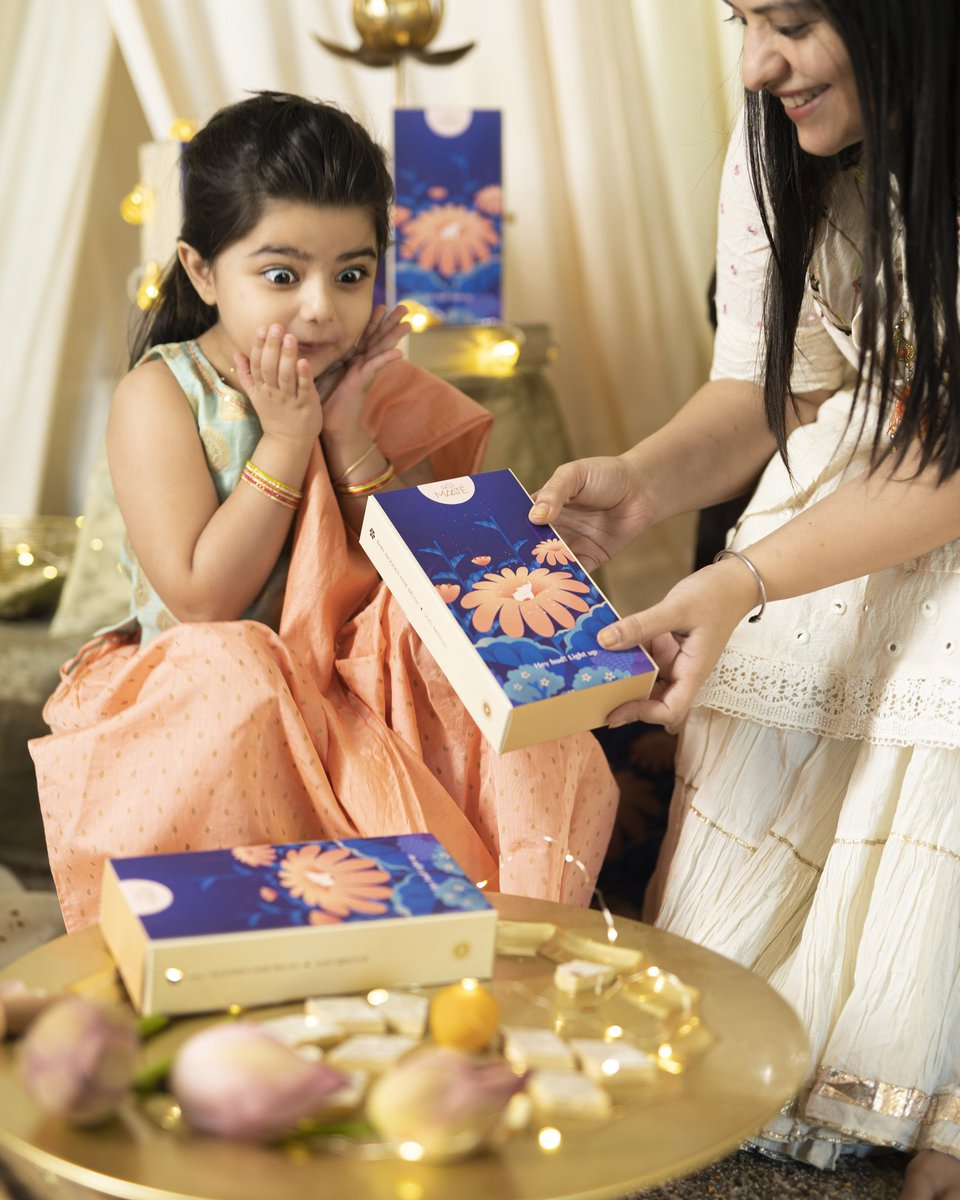 There's nothing more fulfilling than watching a little one jumping with joy upon receiving something. 🎁  To make them feel special and celebrate their childhood we have thoughtfully put together festive gift boxes dedicated exclusively to them. Shop now: