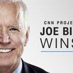Image for the Tweet beginning: BREAKING: JOE BIDEN WINS  Joe Biden