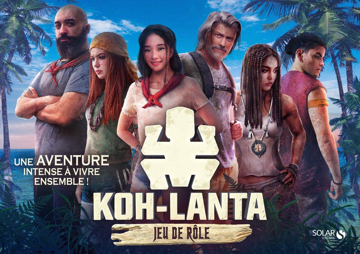 """Fabien Fernandez on Twitter: """"le jeu de role Koh Lanta est en boutique,  pour vivre et/ou revivre l'émission.... #jdr #KohLanta #Solar  #FabienFernandez… https://t.co/Yg8tmjBLTw"""""""