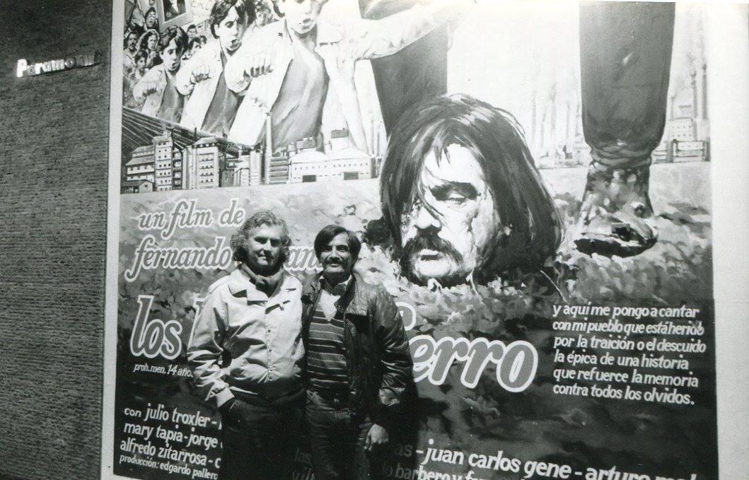 """Agencia Télam's tweet - """"Pino Solanas: un cine poderoso y consecuente entre lo documental y la ficción """" - Trendsmap"""