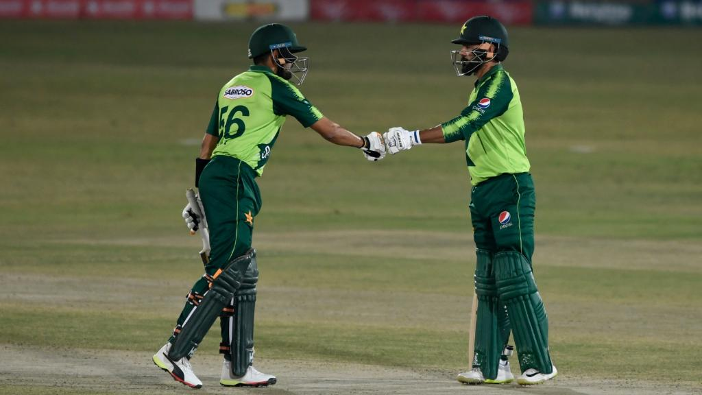 🇵🇰 Congratulations to Pakistan who have romped to a six-wicket win over Zimbabwe in the 1st T20I thanks to a superb 82 from captain Babar Azam 🔥   #PAKvZIM Scorecard ▶️