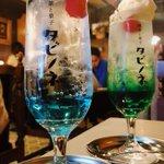 ここまで綺麗なクリームソーダ見たことない!大阪の【喫茶と菓子タビノネ】に行ってみたい!