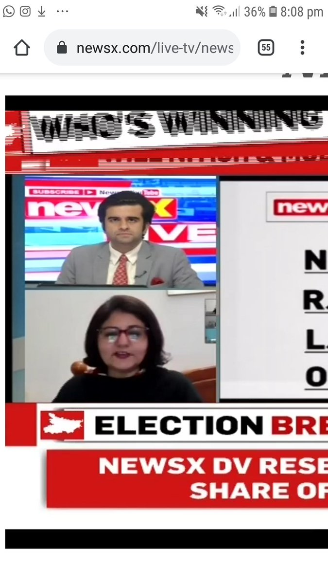 Replying to @Priyascorner: V v int exit polls @NewsX  @UdayPratapSingh #BiharElection2020