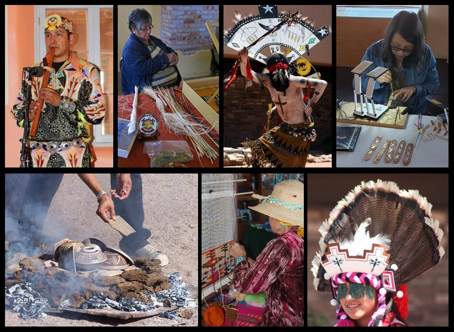 The park has featured cultural demos from the various tribes: Zuni, Hopi, Navajo, & White Mountain Apache. These artists sell items, show how they are made, talk about their personal journey & their culture. #IndigenousHeritage #NativeAmericanHeritageMonth