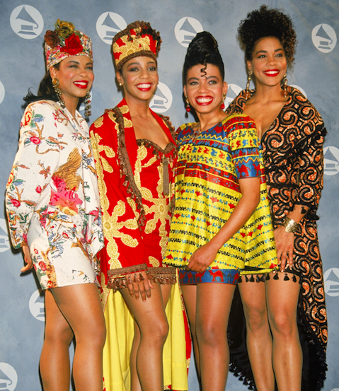 When fashion meets the #GRAMMYs ✨  Seven-time GRAMMY-nominated American R&B/pop vocal group @EnVogueMusic at the 33rd GRAMMY Awards in 1991:  #GRAMMYVault