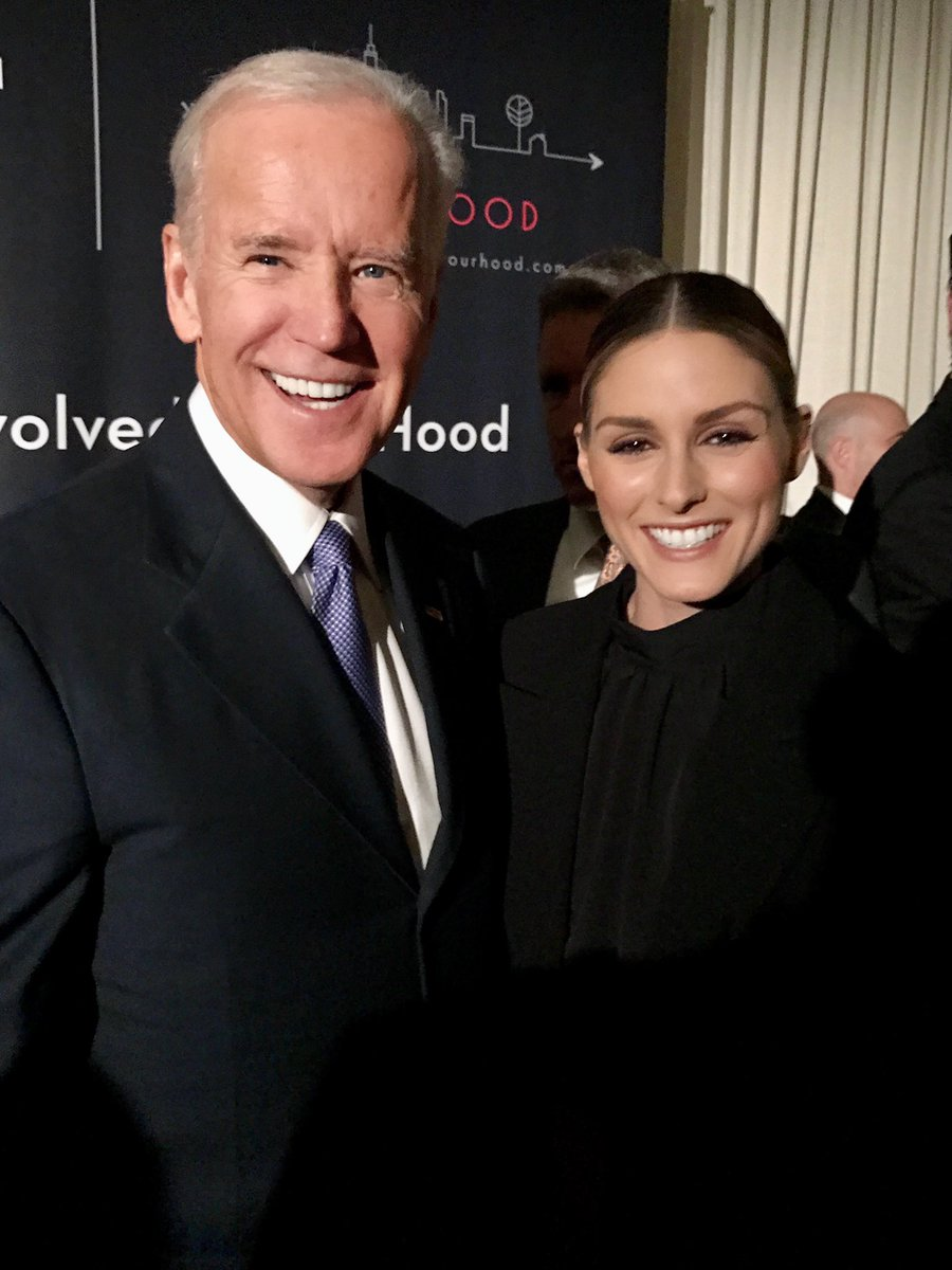 Congratulations to President-elect @JoeBiden 🇺🇸  Pictured here in 2017 at an event for Ashley Biden. https://t.co/zbzXTb5sIo