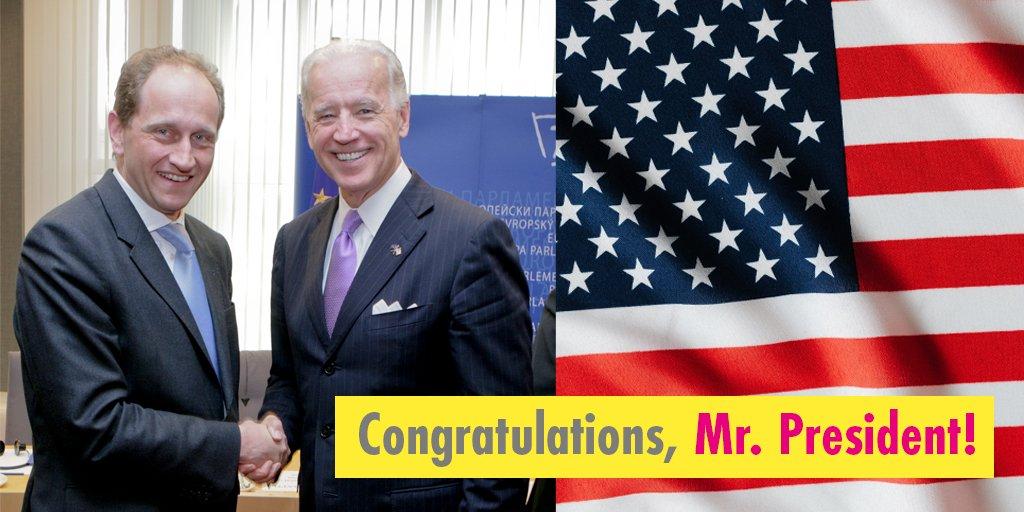 Congratulations, @JoeBiden!