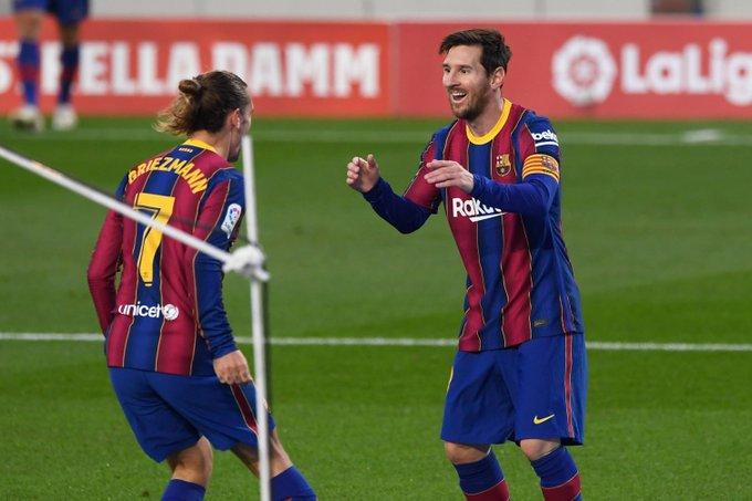 برشلونة يضرب ريال بيتيس بخماسية في الليغا وعودة البرغوث للتهديف